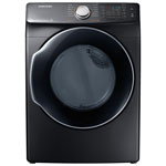Samsung 7.5 Cu. Ft. Electric Steam Dryer (DVE45N6300V/AC) - Black