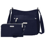529081cdeab8 baggallini Classic Nylon Crossbody Bag - Navy (UPB287). Sold out online