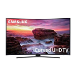 "SAMSUNG 55"" CLASS CURVED 4K (2160P) SMART LED TV (UN55MU6490) - REFURBISHED"