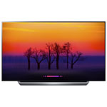 "LG 77"" 4K UHD HDR OLED webOS 4.0 Smart TV (OLED77C8P) - Black Titan"