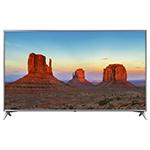 Téléviseur intelligent webOS 4.0 HDR DEL UHD 4K de 75 po de LG (75UK6570) - Titane météo - Excl. BB