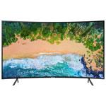 """Samsung NU7300 55"""" 4K UHD HDR LED Curved Tizen Smart TV (UN55NU7300FXZC)"""