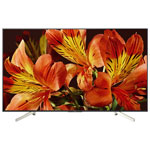 """Sony 75"""" 4K UHD HDR LED Android Smart TV (XBR75X850F) - Silver Chevron"""