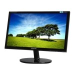"Samsung EX2220X 21.5"" LED-BACKLIT LED Monitor, 5ms responsible time, 1920 x 1080 Full HD (1080P), DVI-D, VGA-Refurbished"