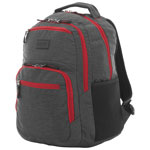 "Kenneth Cole Colour Pop 15.6"" Laptop Day Backpack - Grey/Red"