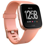Fitbit Versa Smartwatch with Heart Rate Monitor - Peach