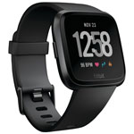 Fitbit Versa Smartwatch with Heart Rate Monitor - Black