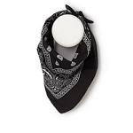 Paisley bandana - ONE SIZE - Black
