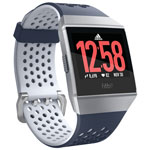 Fitbit Ionic adidas Edition Smartwatch with Heart Rate Monitor - Ink Blue/Ice Grey