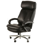 Z-Line Designs Big & Tall High-Back Bonded Leather Executive Chair - Black