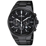 Citizen Quartz 40mm Men's Chronograph Casual Watch - Black