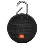 JBL Clip 3 Waterproof Bluetooth Wireless Speaker - Black