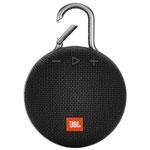 Haut-parleur sans fil Bluetooth étanche Clip 3 de JBL - Noir