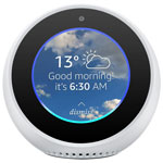 Echo Spot d'Amazon - Anglais - Blanc