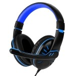 PC Gaming Headset, Fosmon 3.5mm Over the Ear Stereo Audio Wired Headphones with Microphone & Volume Control Remote for PC xBox