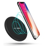 Wireless Qi Charger, Fast Charging Pad for iPhone 8 8 Plus X, Galaxy S9 S8 Plus S7 Edge S6 Edge Plus Note 5, Other Qi Devices