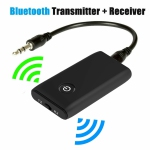 Bluetooth Receiver & Transmitter,2-In-1 Switchable Wireless Audio Music Streaming Adapter with 3.5mm Stereo Output