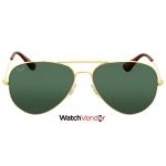 Ray-Ban Green Classic Aviator Sunglasses