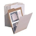 """AOS Flat Storage File Folders - Stores Flat Items up to 12""""x18""""- Pack of 10"""