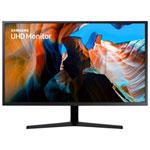 """Samsung 32"""" 4K 60Hz 4ms GTG VA LED FreeSync Gaming Monitor (LU32J590UQNXZA) - Black"""