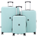IT Luggage Doppler 3-Piece Hard Side Expandable Luggage Set - Mint