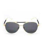 752d5e8b83 PANDACO Tracy - Mirrored Full Dark Grey Sunglasses