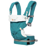 Porte-bébé ergonomique à quatre positions 360 d'Ergobaby - Ciel festif