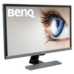 """BenQ 27.9"""" 4K UHD 60Hz 1ms GTG TN LCD FreeSync Gaming Monitor (EL2870U) - Metallic Grey"""