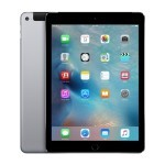 Apple iPad Air 2 Second Generation 9.7in Wifi only 64gb in Gray, Refurbished