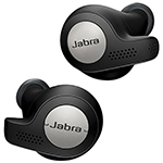 Jabra Elite Active 65t In-Ear Noise Cancelling Truly Wireless Headphones - Black - Only at Best Buy