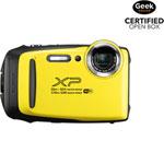 Fujifilm FinePix XP130 Waterproof 16MP 5x Optical Zoom Digital Camera - Yellow - Open Box
