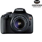Canon EOS Rebel T7 DSLR Camera with 18-55mm Lens Kit - Open Box
