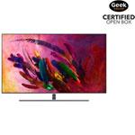 "Samsung 65"" 4K UHD HDR QLED Tizen Smart TV (QN65Q7FNAFXZC) - Eclipse Silver - Open Box"