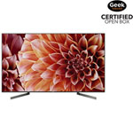 """Sony 65"""" 4K UHD HDR LED Android Smart TV (XBR65X900F) - Open Box"""