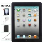 Apple IPAD 4th Generation 64GB BLACK WIFI ONLY Refurbished Comes with Case, Stylus Pen, charger and a 1 Year Warranty