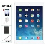 Apple IPAD AIR 32GB SILVER WIFI ONLY Refurbished Comes with Case, Stylus Pen, charger and a 1 Year Warranty