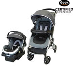 Safety 1st Step And Go 2 Standard Stroller With OnBoard 35 Infant Car Seat