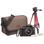 Canon EOS Rebel T6 DSLR Camera with 18-55mm Lens, Camera Bag & Tripod