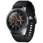 Samsung Galaxy Watch 46mm Smartwatch with Heart Rate Monitor - Silver/Black