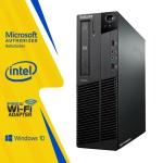 Lenovo ThinkCentre M91 SFF Desktop PC Computer Core i5 2400 16GB RAM 1TB HDD DVDRW Win10 Home WiFi (Refurbished)