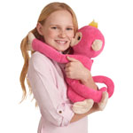 WowWee Fingerlings HUGS Monkey Bella