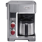 Wolf Gourmet Programmable Drip Coffee Maker - 10-Cup - Stainless Steel