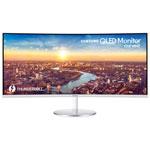 "Samsung 34"" WQHD 100Hz 4ms GTG Curved VA LED Monitor (LC34J791WTNXZA) - Grey"