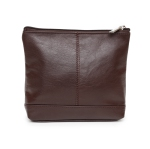 a134ca3c59ce Ashlin Leather Cosmetic Bag - Dark Brown