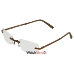 74959773303d B+D Folding Readers Matt Brown Brown +2.00 Eyeglasses 2244-38-20