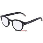 250e10a1c0f0 B+D Blue Ban Reader Matt Black +1.00 Eyeglasses 2280-99-10