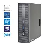"HP EliteDesk 800 G1 Gaming PC Intel i5 4570 3.2GHz 8GB 240GB SSD Win10 Pro ""AMD R5-240 1GB"" Video Card HDMI Refurbished"