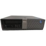 DELL 960 Desktop PC, C2D E8400 CPU, 4GB RAM, 250GB HDD, DVDROM, Windows 10, Refurbished
