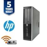HP ELITE 8300 USF I5 3470S 8GB 320GB DVD WIN10 HOME 5YR WTY USB WIFI - Refurbished