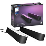 Philips Hue Play Smart LED Light Bar Kit - 2 Pack - Black